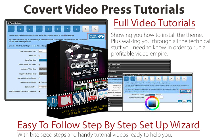 covert studio press tutorial