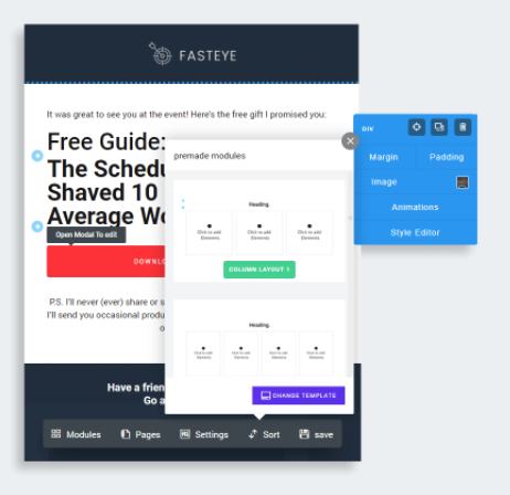 Fasteye Pages Feature Review