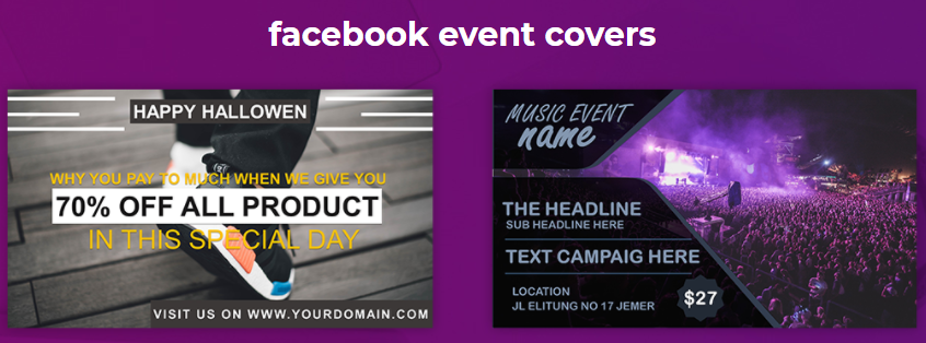 graphysuite facebook event covers template