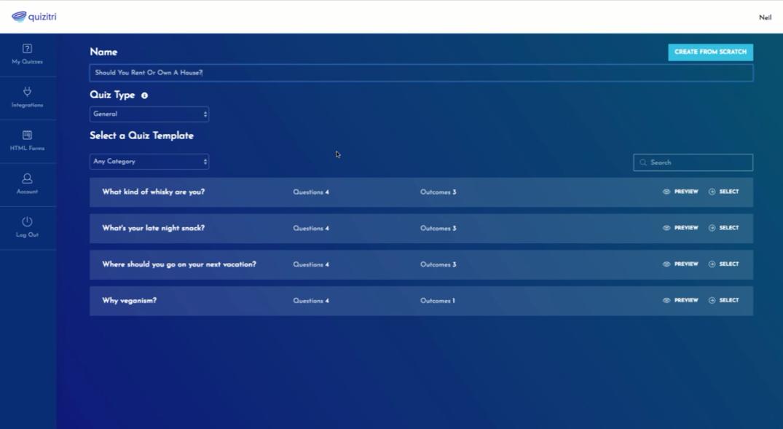 quizitri feature demo