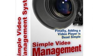 simple video management system
