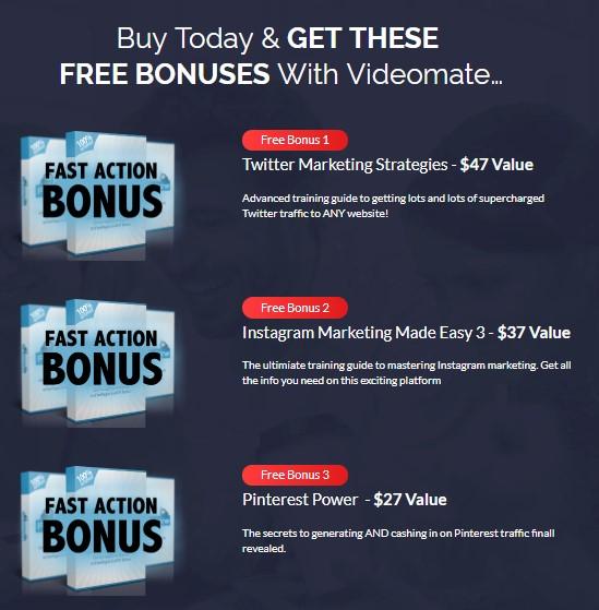 videomate review bonus