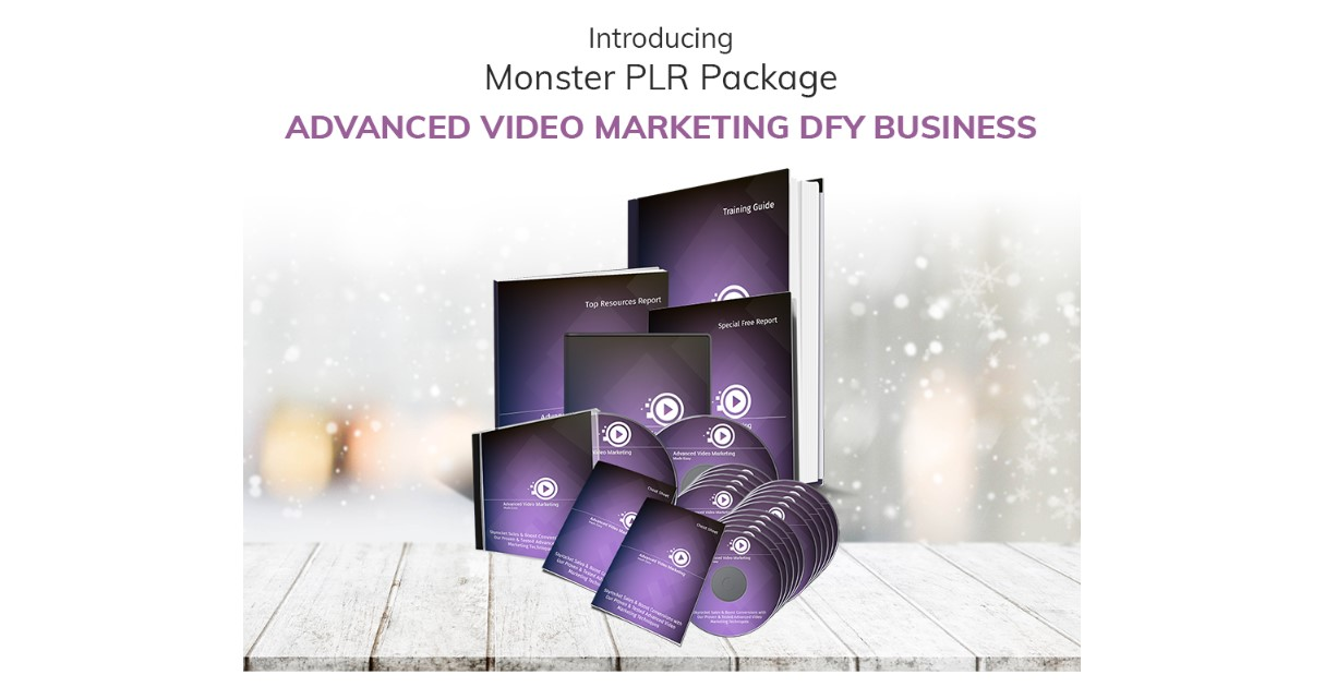 Advance Video Marketing DFY Business